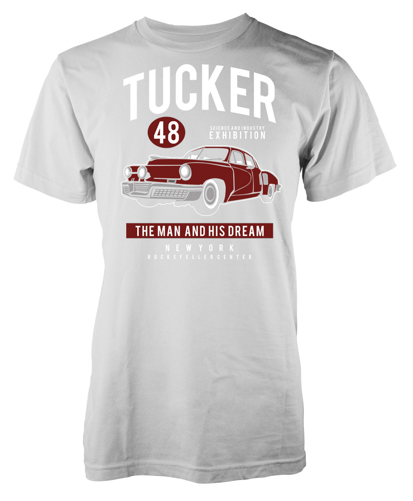 Tucker 48 the man and his dream new york custom car kids t for New york custom t shirts