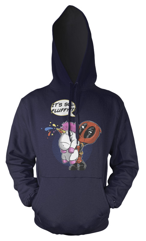 60081caf Its So Fluffy Deadpool Unicorn Kids Hoodie – Ramgfx